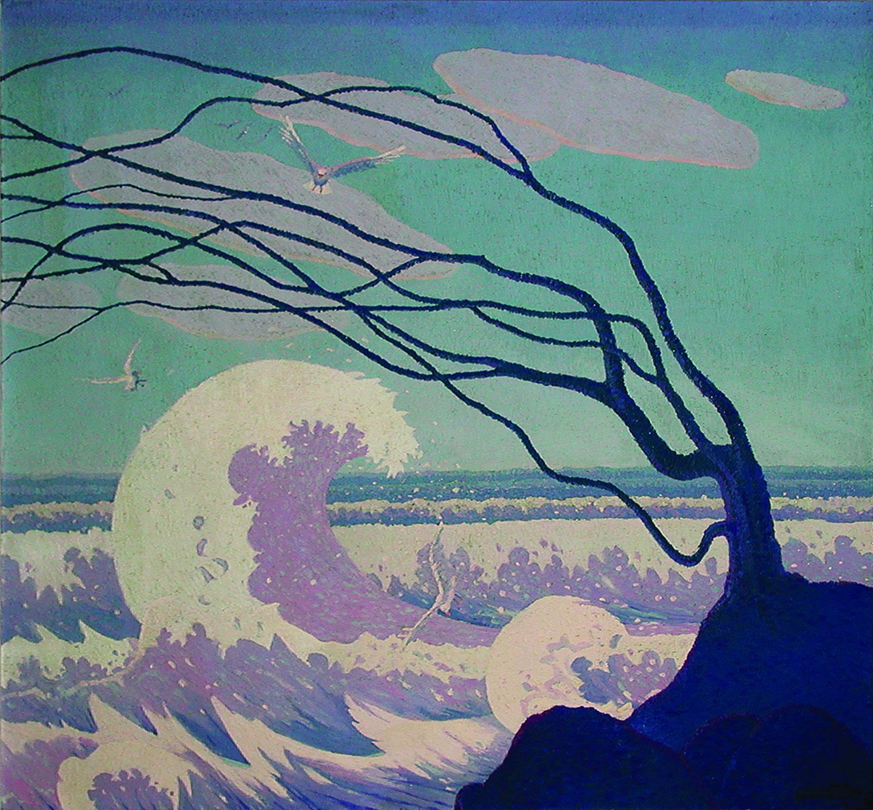Rhythm of the Wind, 1917, Oil on linen