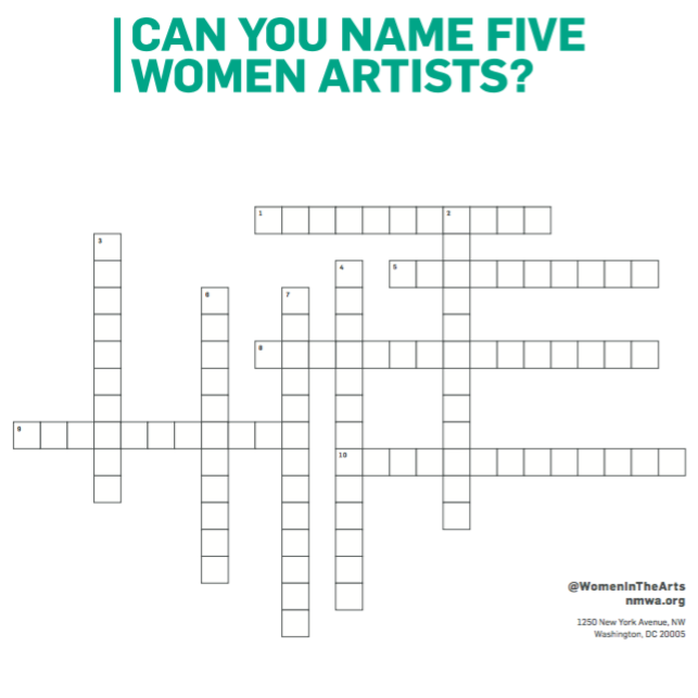 Art Challenge: Can You Name These Women Artists?