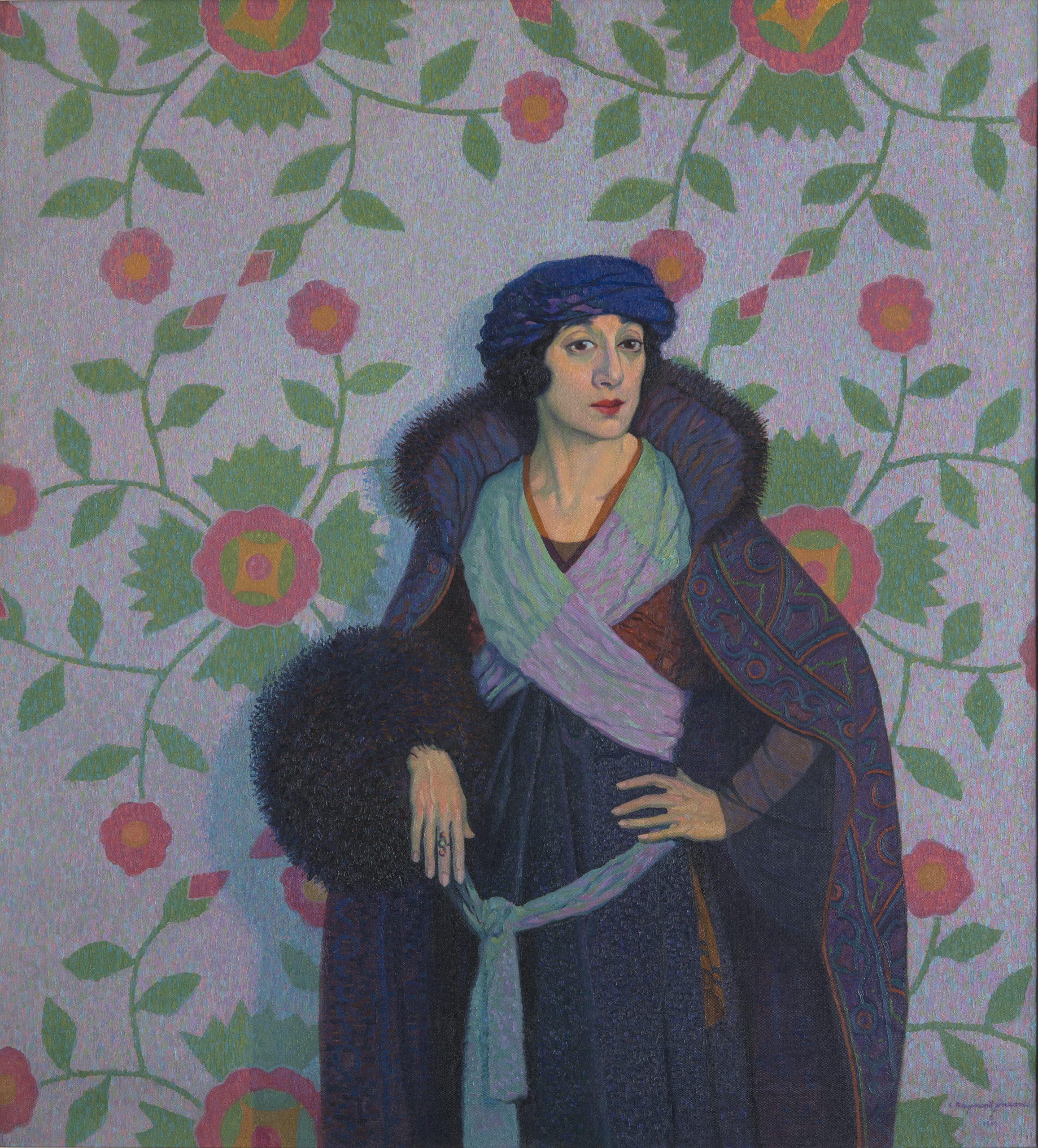 Miriam Kiper - A Characterization, 1919, Oil on canvas, Bequest of Raymond Jonson, Raymond Jonson Collection.