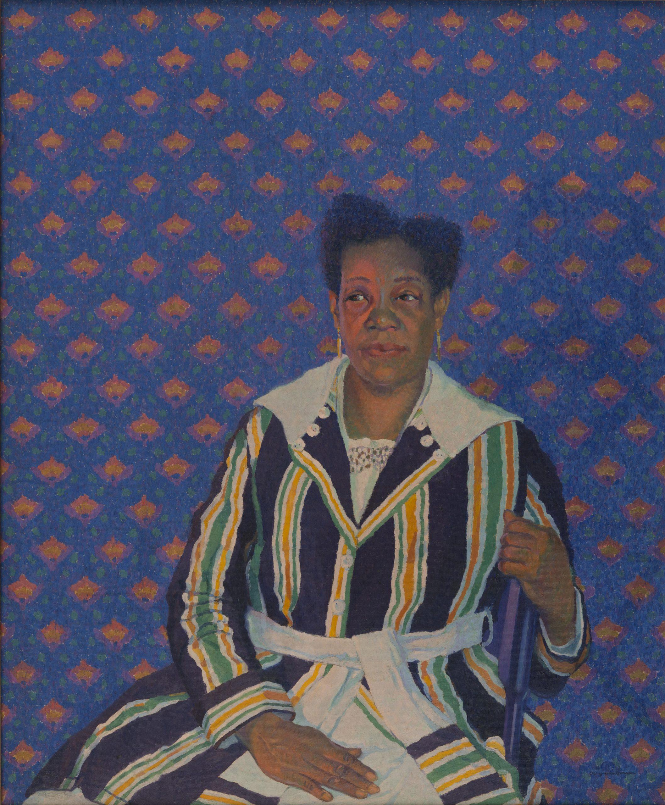Negro Woman (Mrs. Gates), 1918, Oil on canvas, Bequest of Raymond Jonson, Raymond Jonson Collection