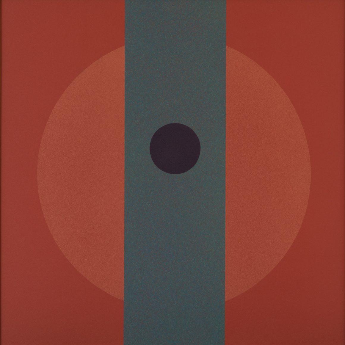 Polymer No. 8, 1966, Acrylic on board, Bequest of Raymond Jonson, Raymond Jonson Collection
