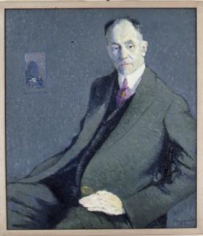 My Musical Friend (Floyd Harris), 1914, Oil on canvas