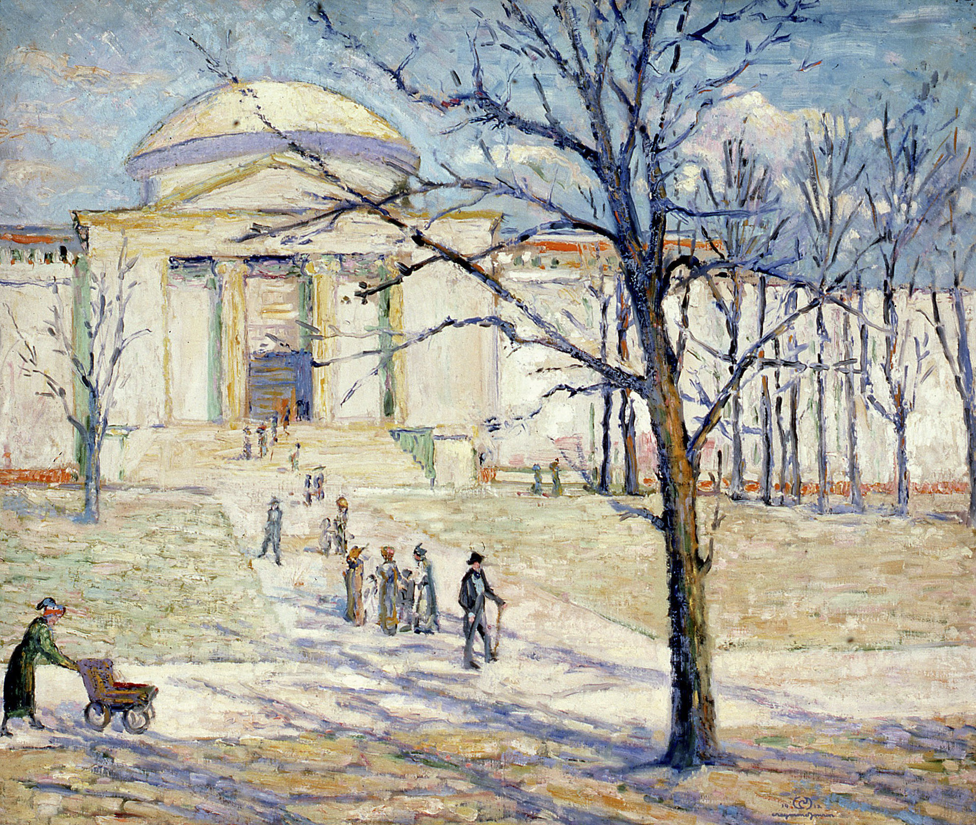 Field Museum - Chicago, 1912, Oil on canvas