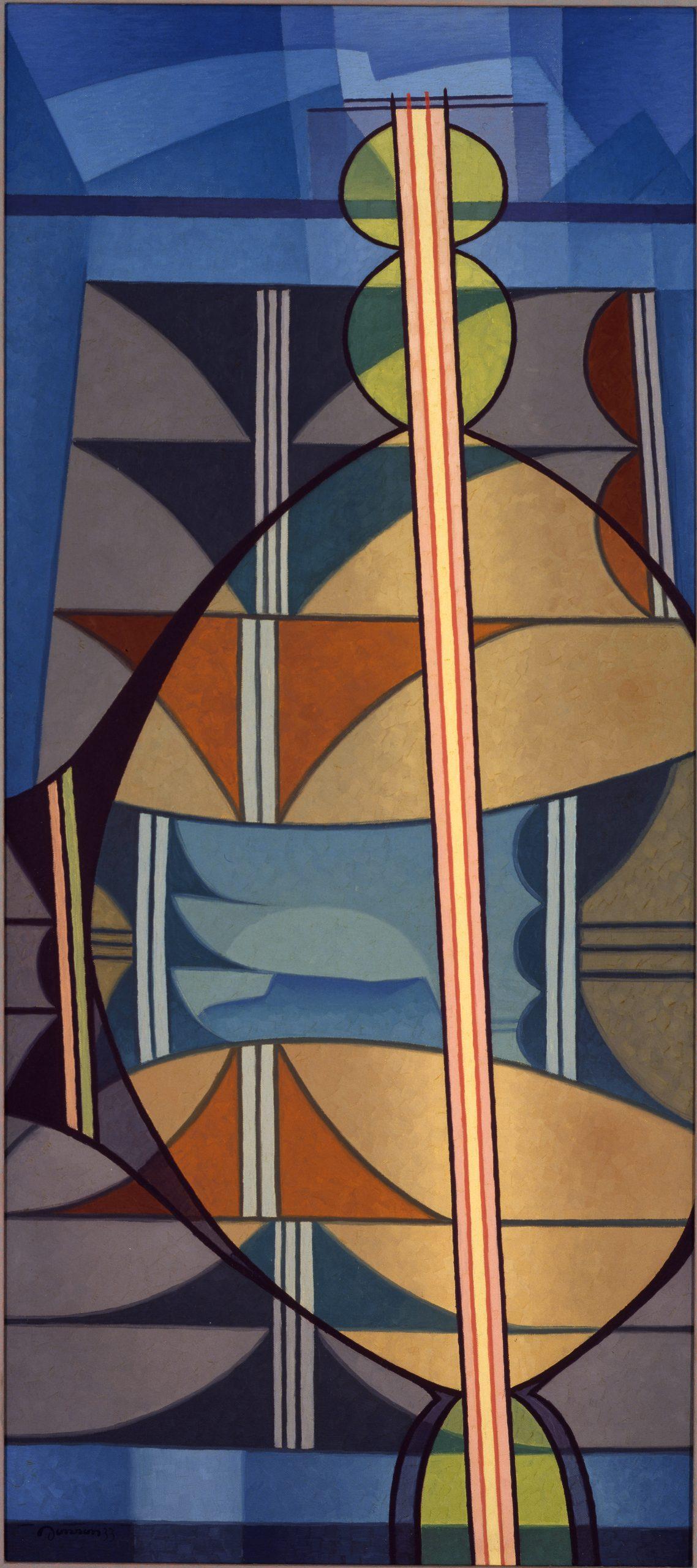 Southwest Arrangement, 1933, Oil on canvas, Bequest of Raymond Jonson, Raymond Jonson Collection