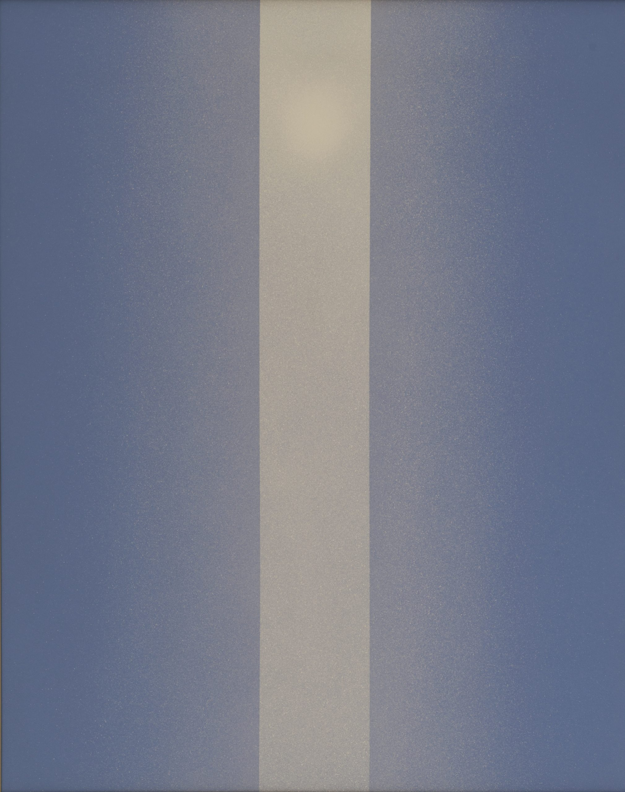 Light - A Trilogy (Polymer No. 12), 1966, Acrylic on Masonite