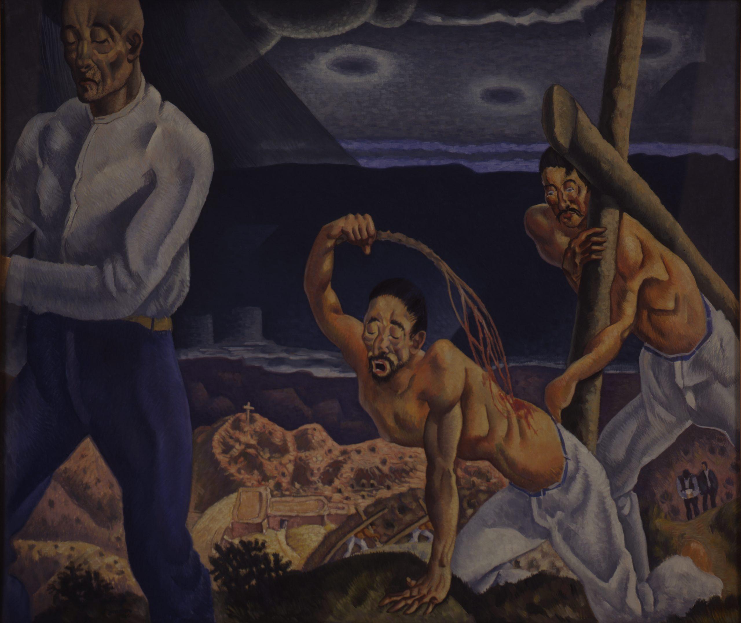 The Penitentes, 1926, Oil on canvas, Bequest of Raymond Jonson, Raymond Jonson Collection