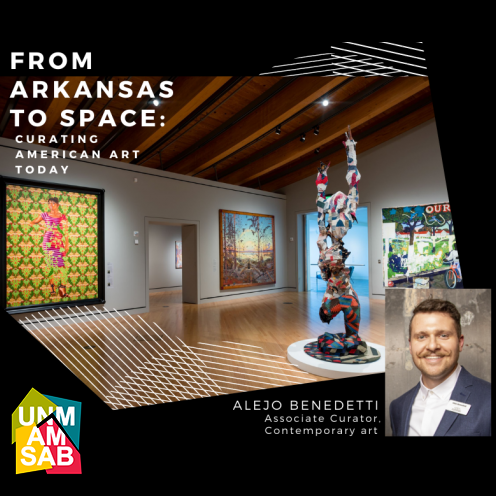 "WATCH: ""From Arkansas to Space: Curating American Art Today"""