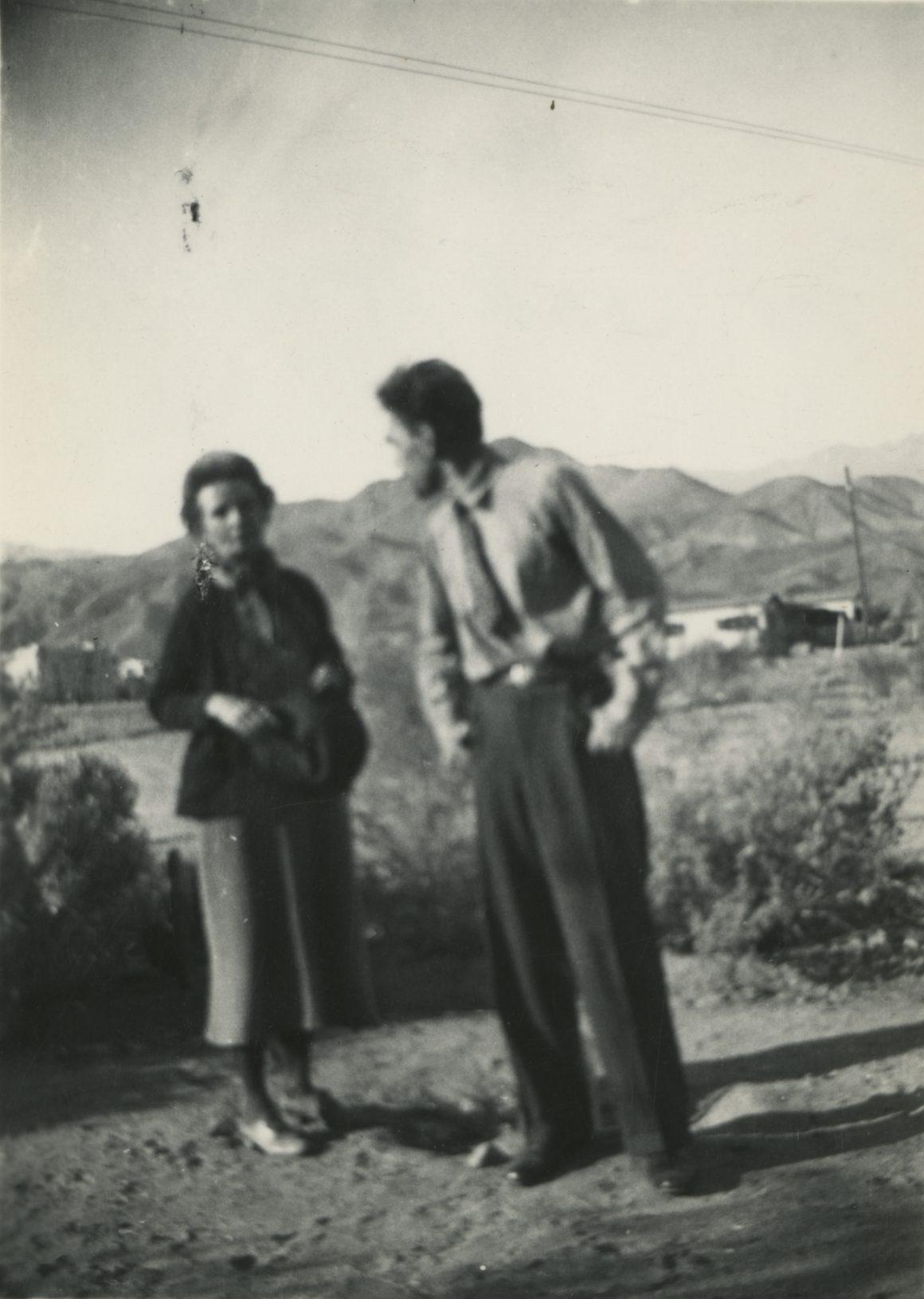 Agnes Pelton and Raymond Jonson