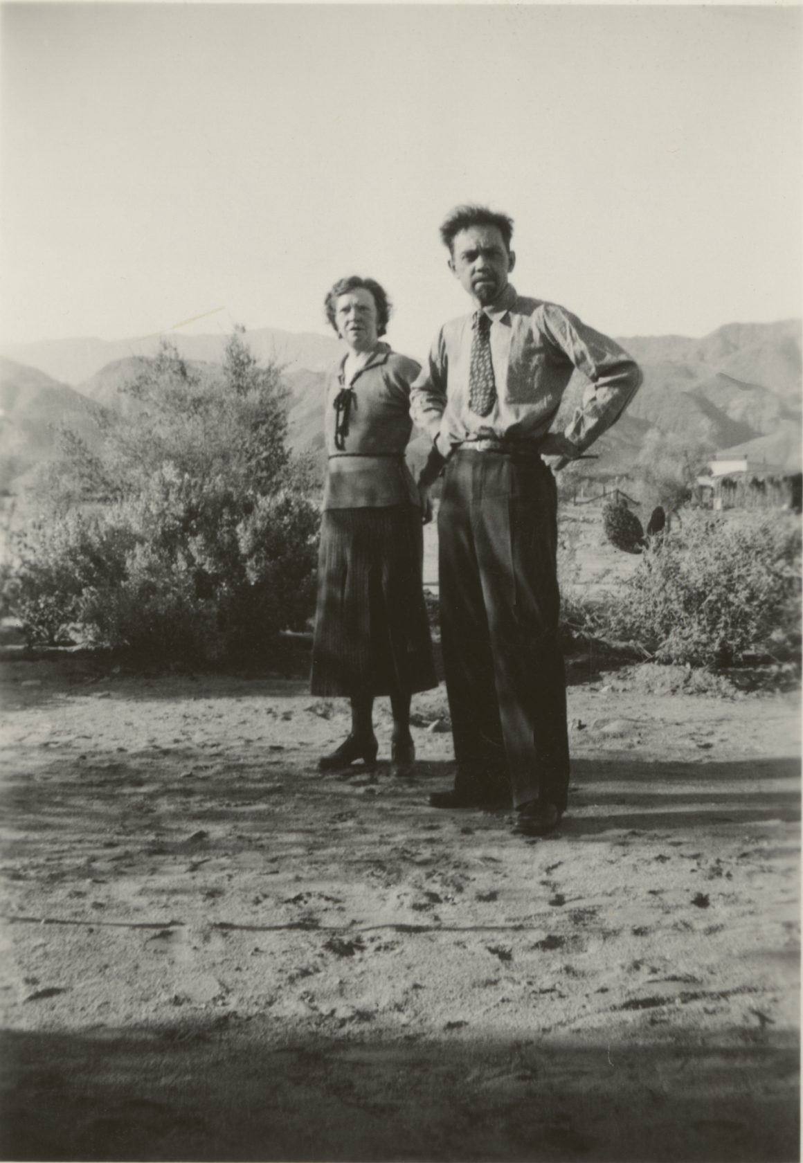Cathedral City, Christmas, 1935