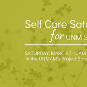 Self Care Saturday for UNM Students