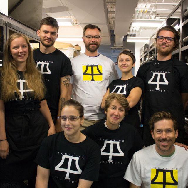 New Acquisition: Tamarind Institute Printer Training Program, Class of 2018–19 Student Portfolio