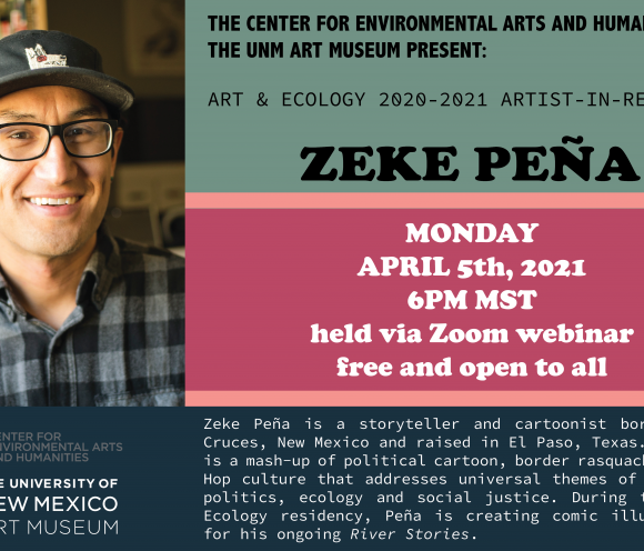 Zeke Peña: Artist Talk and Conversation